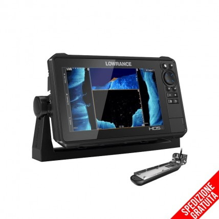 Lowrance HDS-9 Live  con Trasduttore Active Imaging 3 in 1