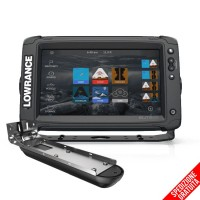 Lowrance Elite-9 Ti2 con Trasduttore Active Imaging 3 in 1