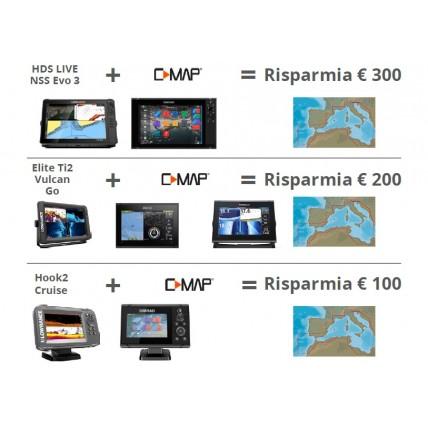 Promozione C-Map Navico Risparmia fino a 300 €